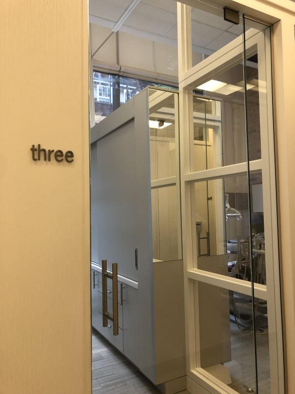 Operatory Doors @ Mercer Street Dentistry